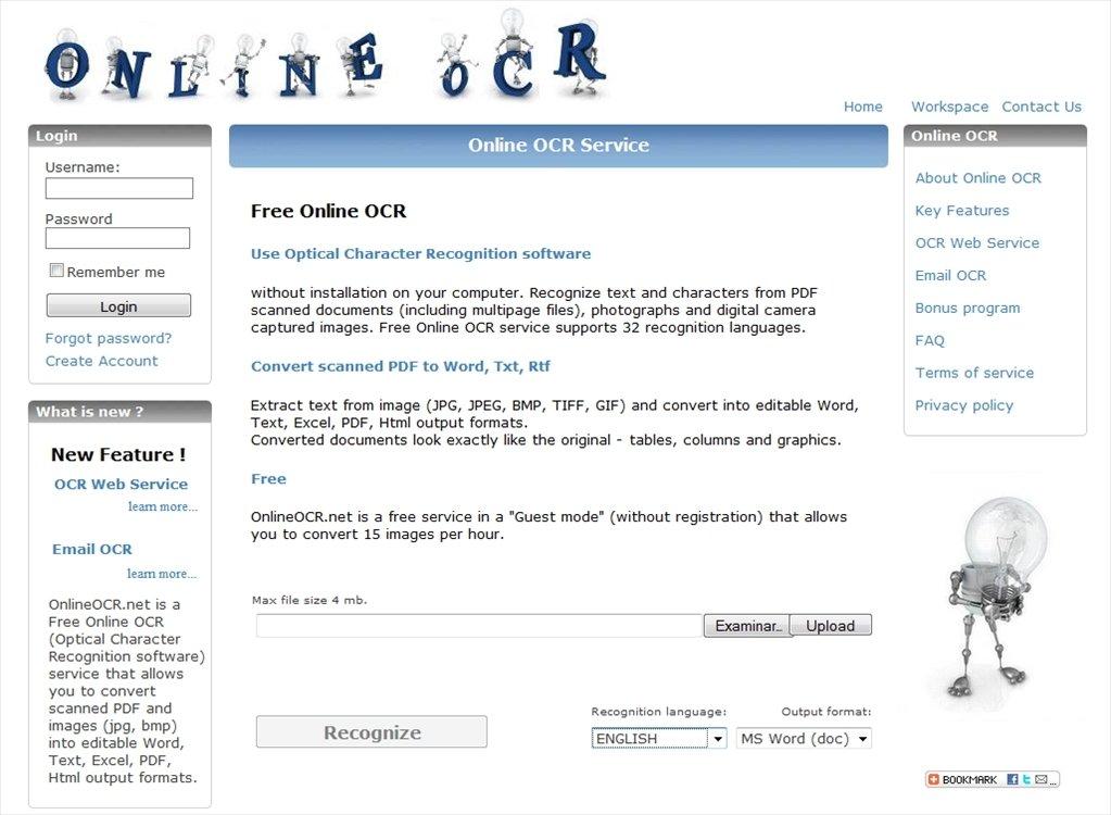 Online OCR Webapps image 4