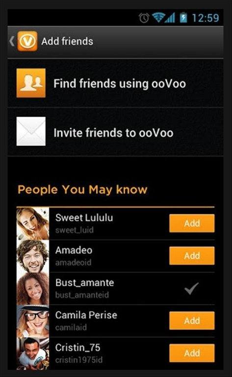 Oovoo apk file 4. 2. 1 video call & voice {for android}.