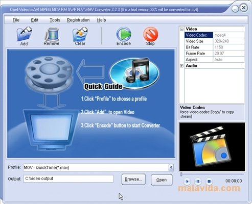 Opell Video Converter image 3
