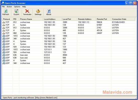 Open Ports Scanner image 3
