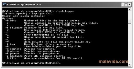 OpenSSH image 4