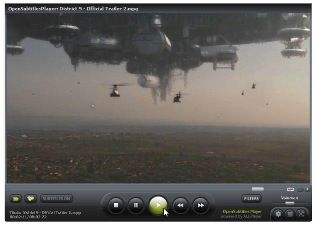 OpenSubtitlesPlayer 7 1 - Baixar para PC Grátis
