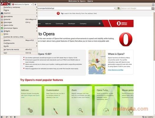 Opera Linux image 5
