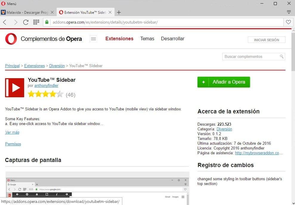 telecharger opera gratuitement pour windows 7