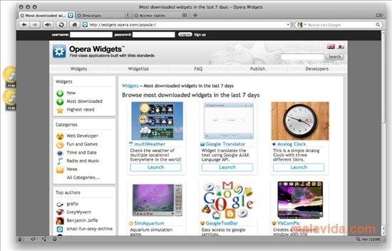opera translate web page