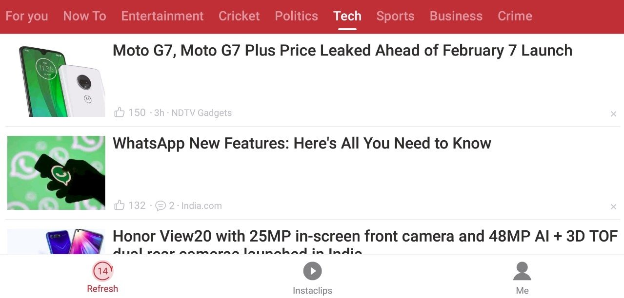 Opera News 6 1 2254 137882 - Download for Android APK Free