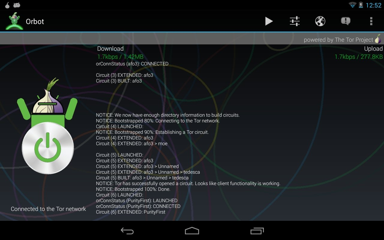 Orbot Android image 6