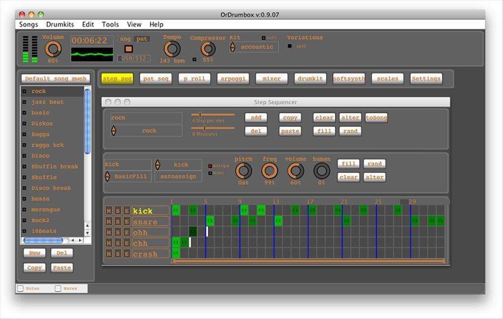 Ordrumbox Mac image 6