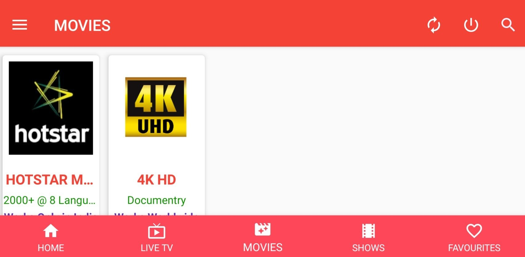 Oreo TV 1 8 0 - Download for Android APK Free