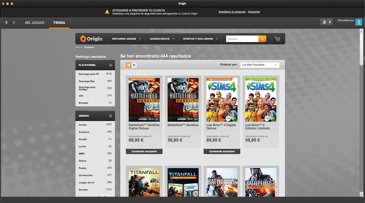 Origin 10 5 38 25027 - Download for Mac Free