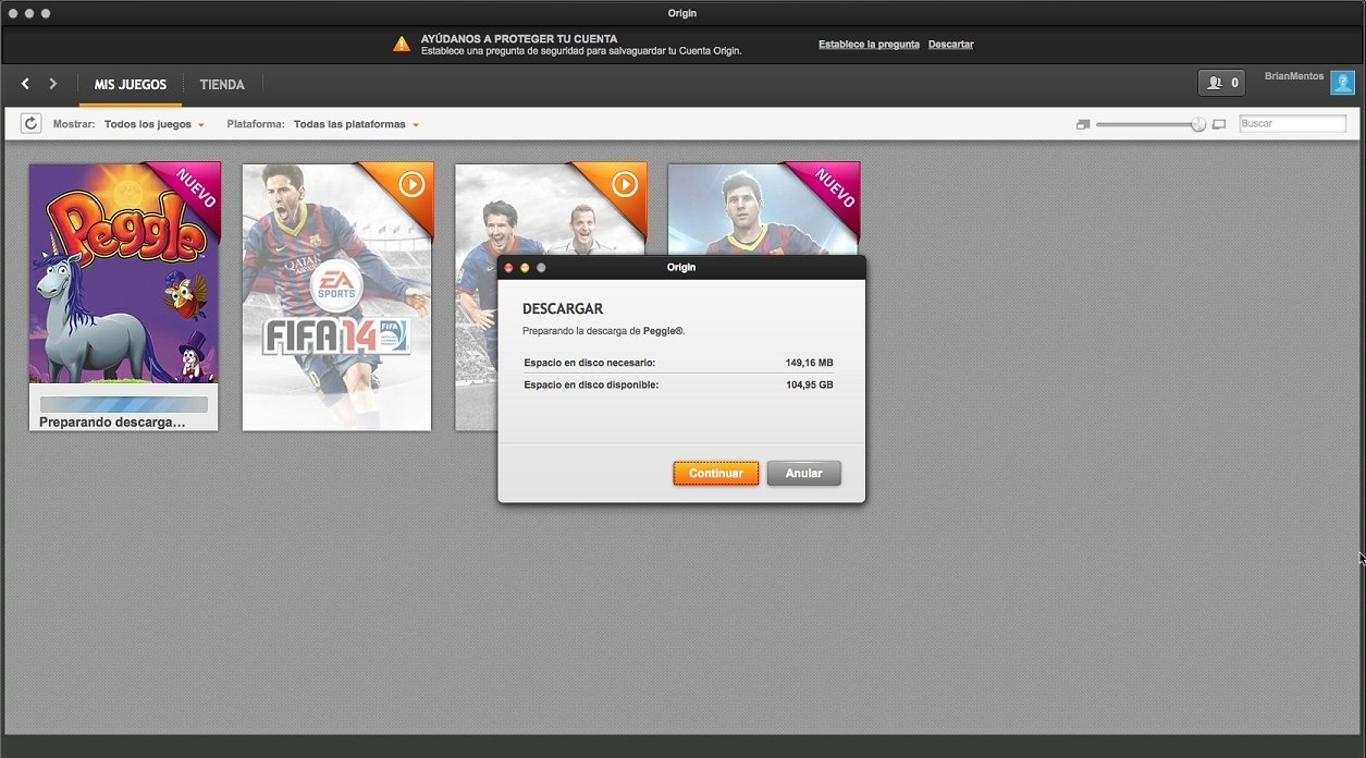 how to download origin on mac