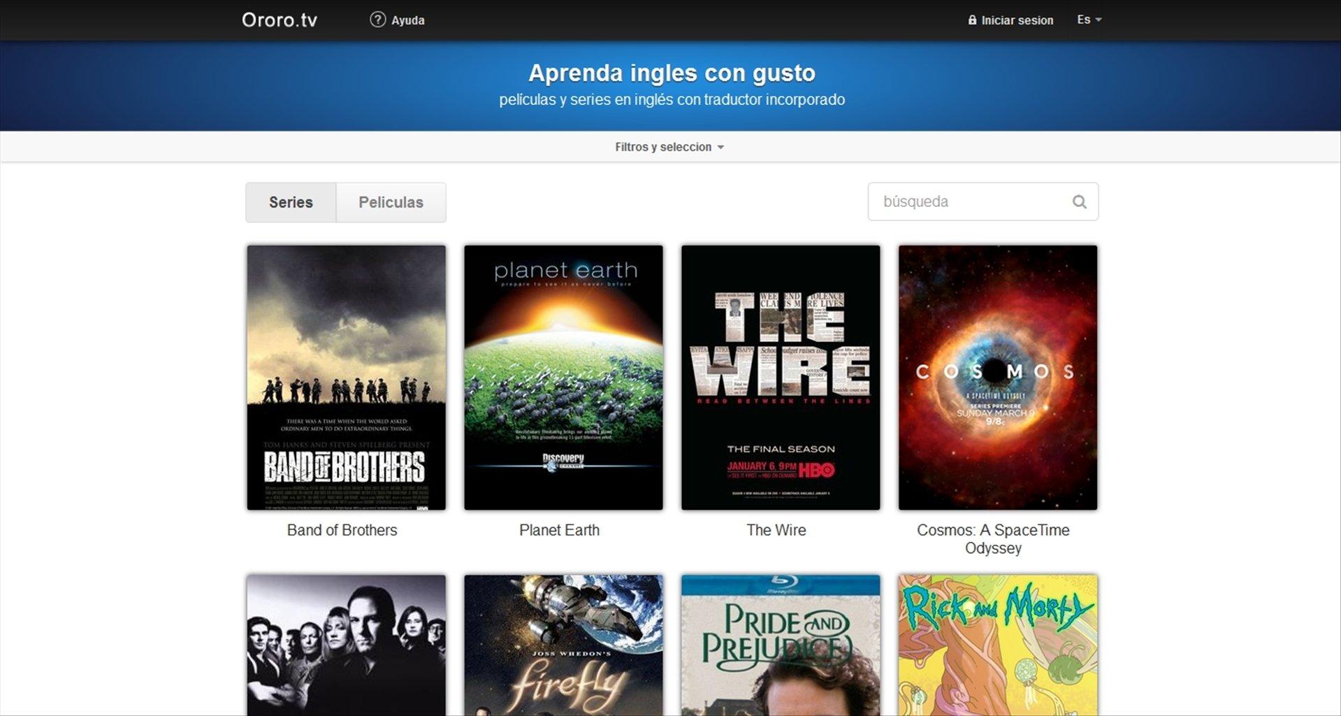 Ororo.tv Webapps image 5