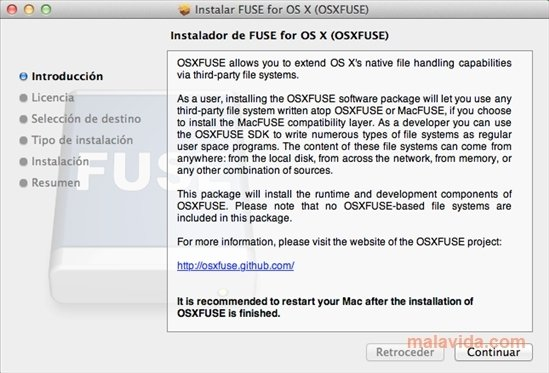 OSXFuse 3 8 2 - Download for Mac Free
