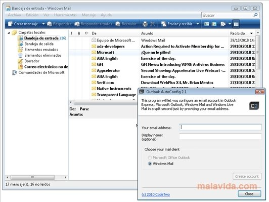 Outlook AutoConfig image 3