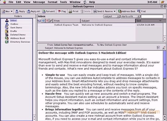 download outlook express for windows 8.1