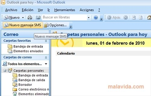 Outlook SMS image 2