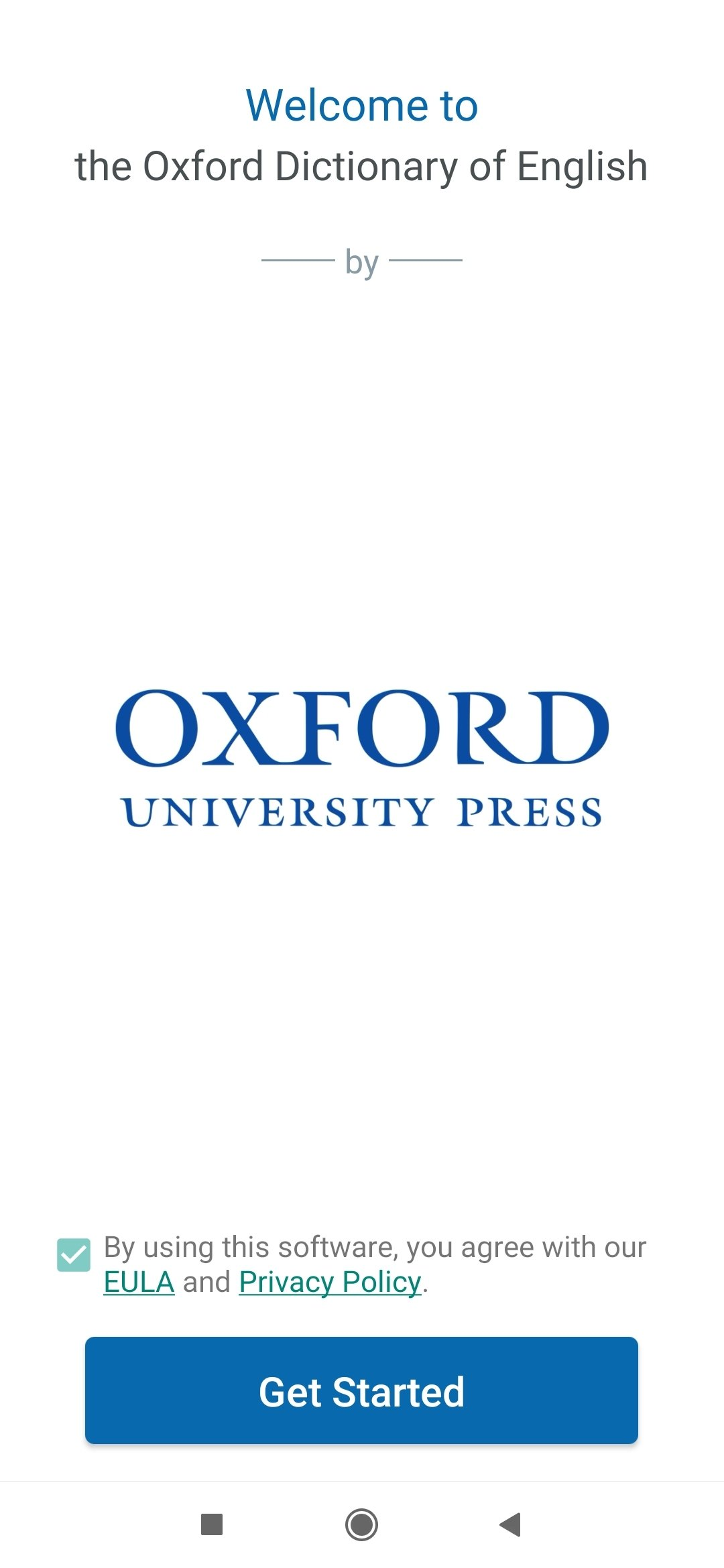Oxford Dictionary of English 11 0 495 - Download for Android APK Free