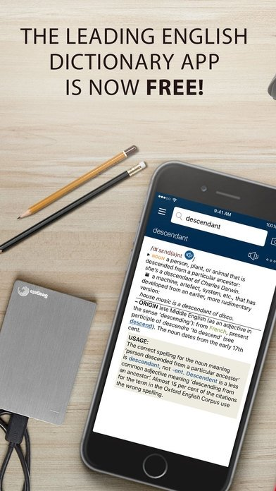 Oxford Dictionary of English iPhone image 5