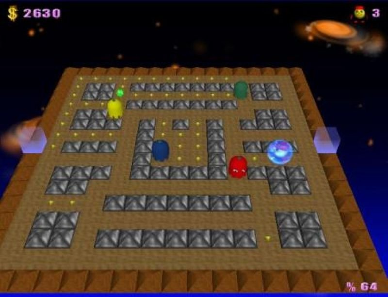 Download pacman adventures 3d for free.