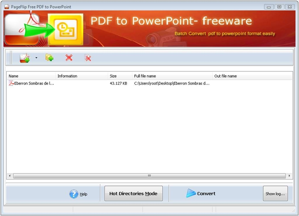 PageFlip Free PDF to PowerPoint 1 0 - Download for PC Free