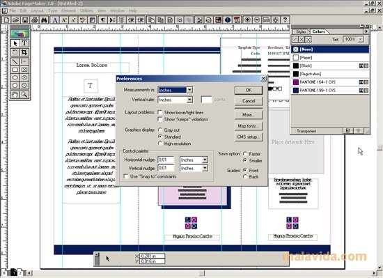 PageMaker image 4
