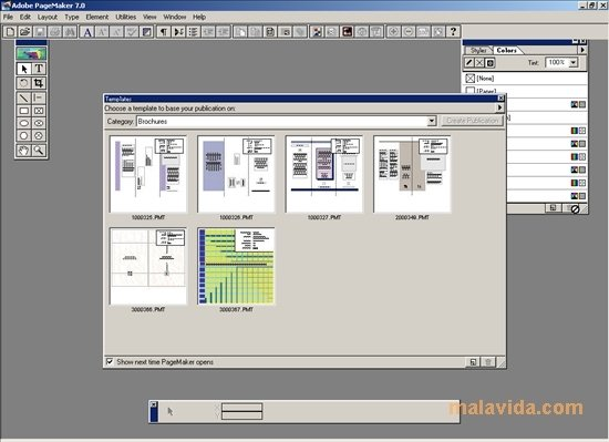 pagemaker templates free download