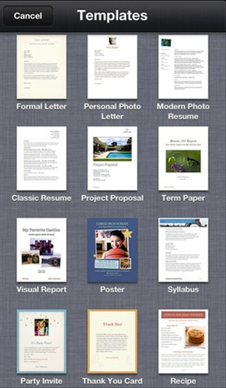 how to save a word document in pages on ipad