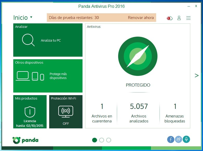 Panda Antivirus Pro 2015 15.0.4