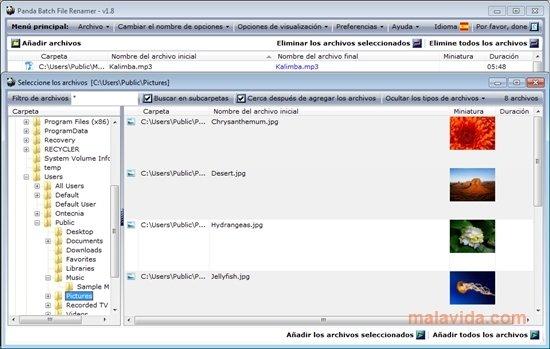 Panda Batch File Renamer 2 2 Telecharger Pour Pc Gratuitement