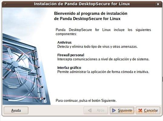 Panda DesktopSecure Linux image 2