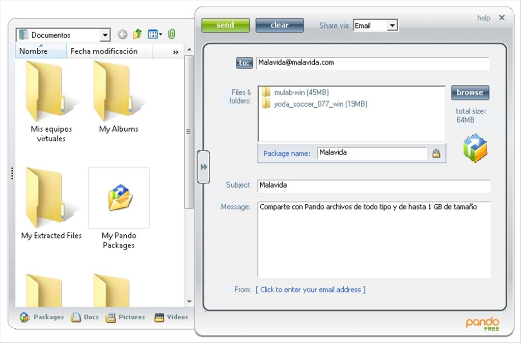 pando download manager