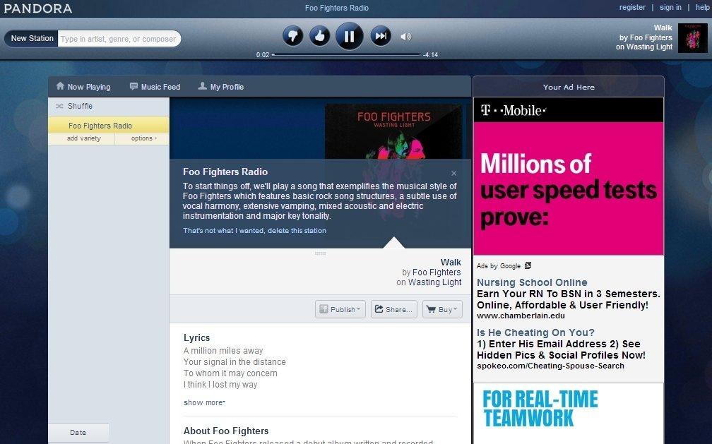 Pandora Webapps image 4