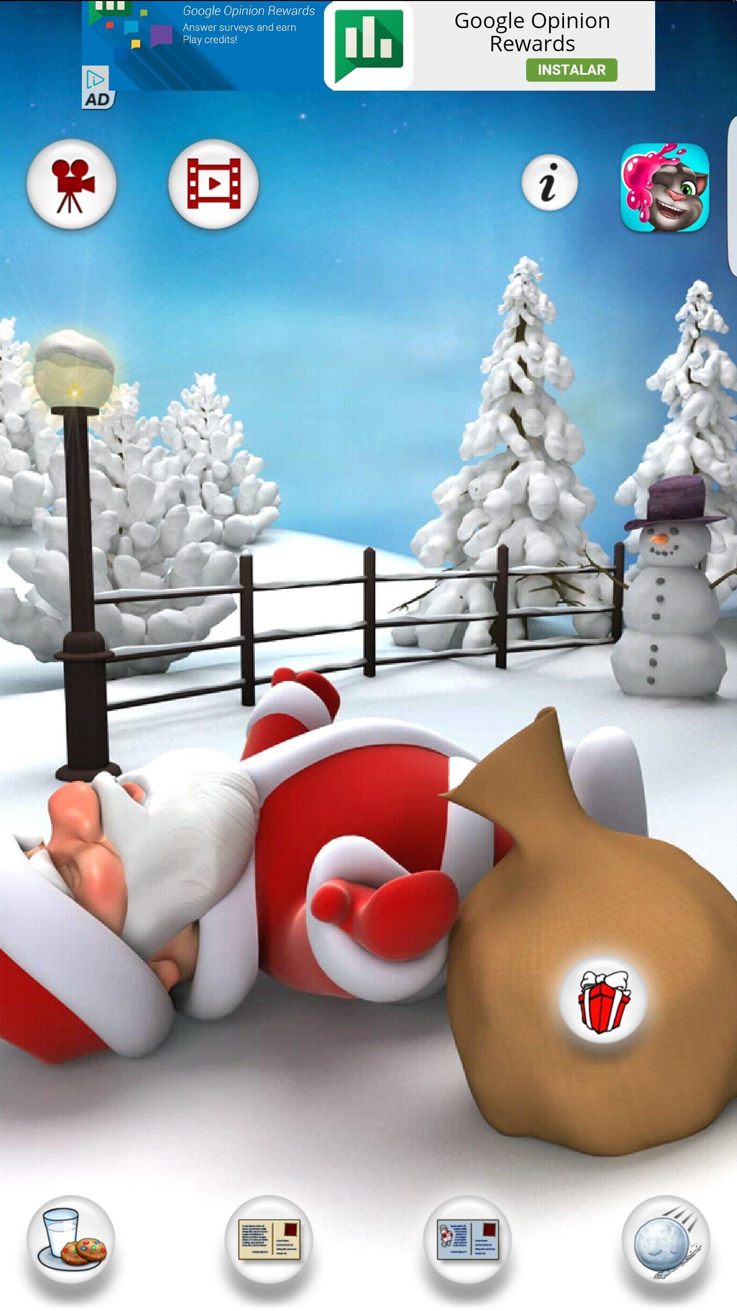 Talking Santa Meets Ginger Скачать На Андроид