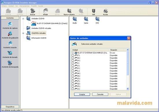 Paragon CD-ROM Emulator image 5