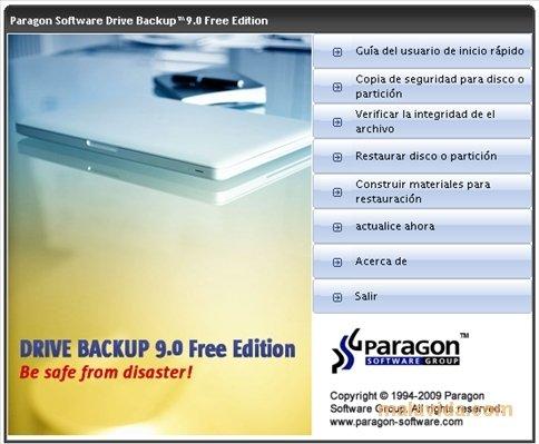 Paragon Drive Backup image 4