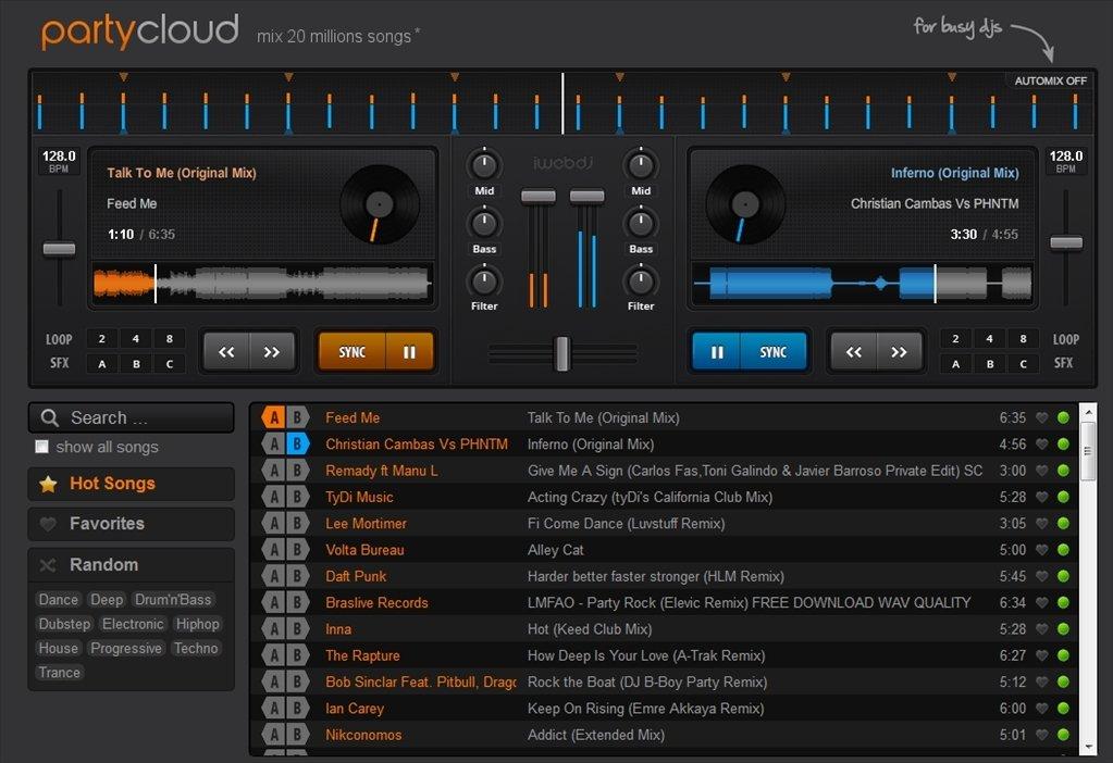 PartyCloud Webapps image 3