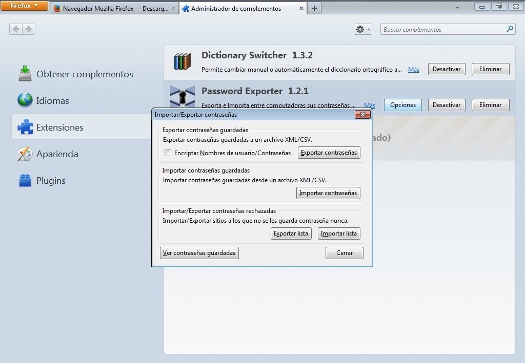 Password Exporter 1 2 1 - Download for PC Free