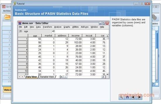 pasw statistics 18