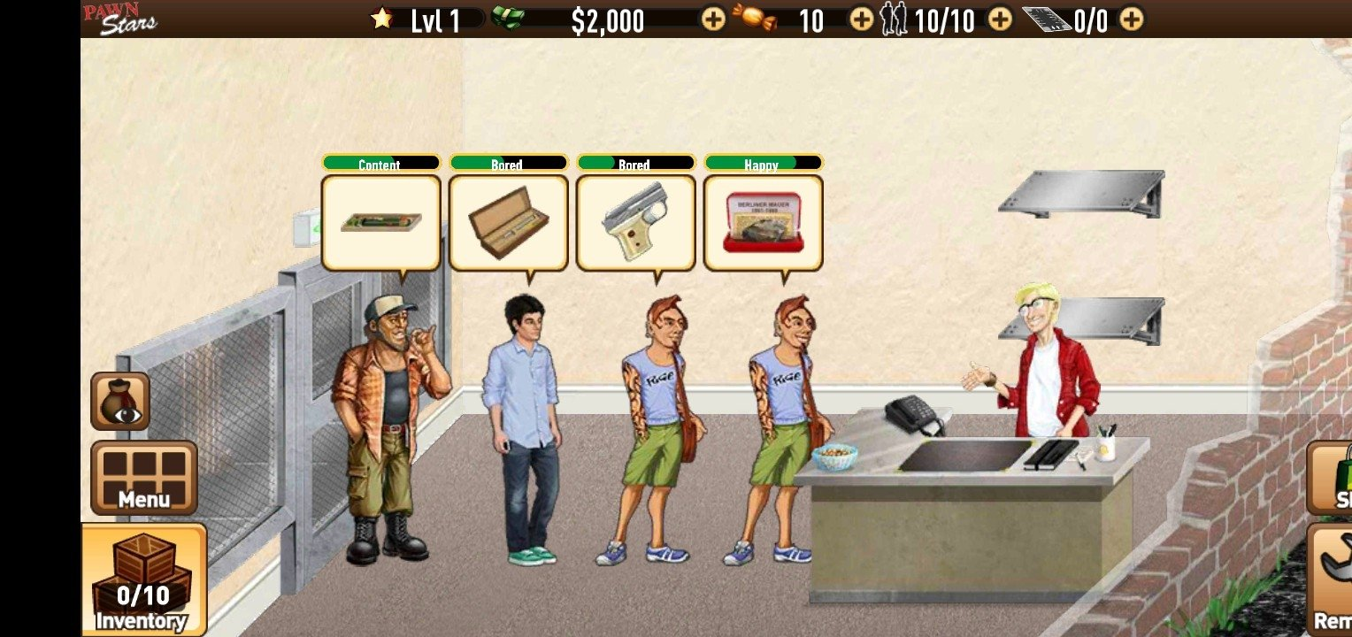 Pawn stars: the game free in-app purchased mod apk.