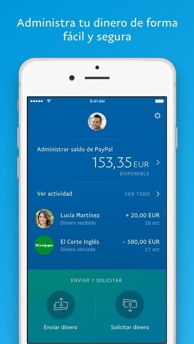 PayPal iPhone image 3