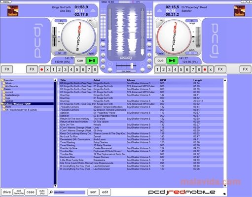 Download the latest version of PCDJ Red DJ Software free in English on CCM