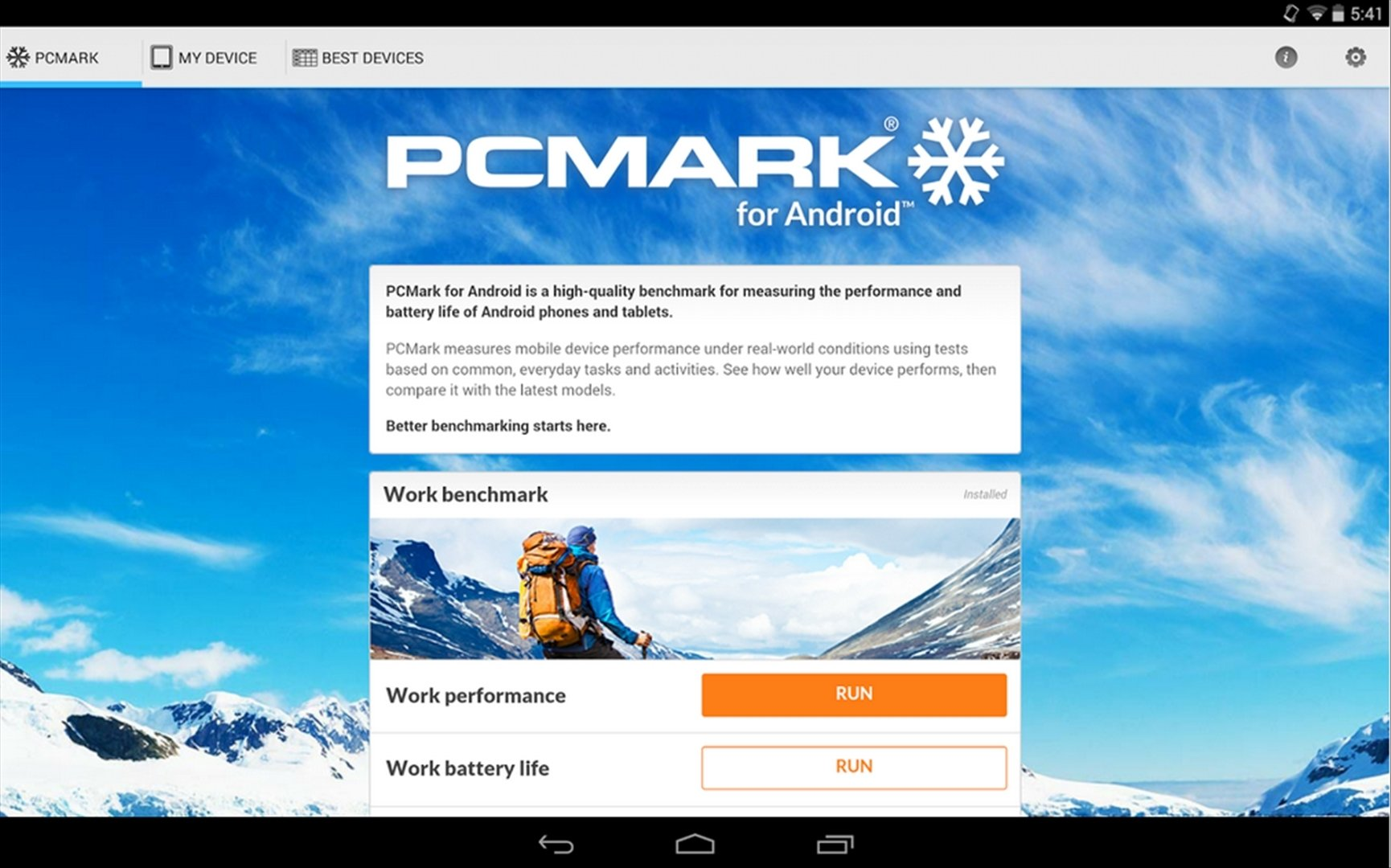 PCMark Android image 8