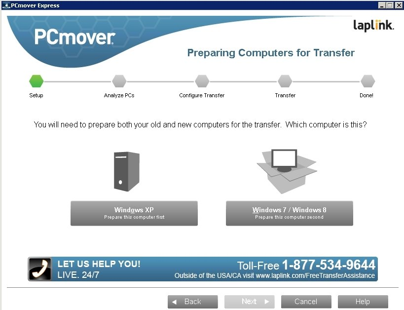 PCmover Express image 3