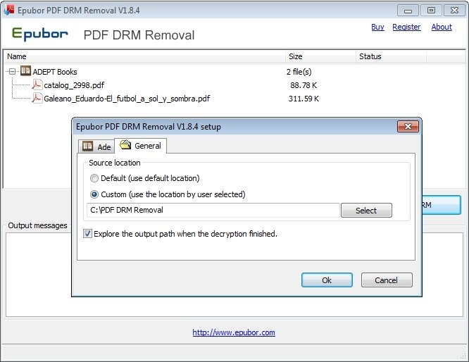 PDF DRM Removal 3 0 10 330 - Download for PC Free