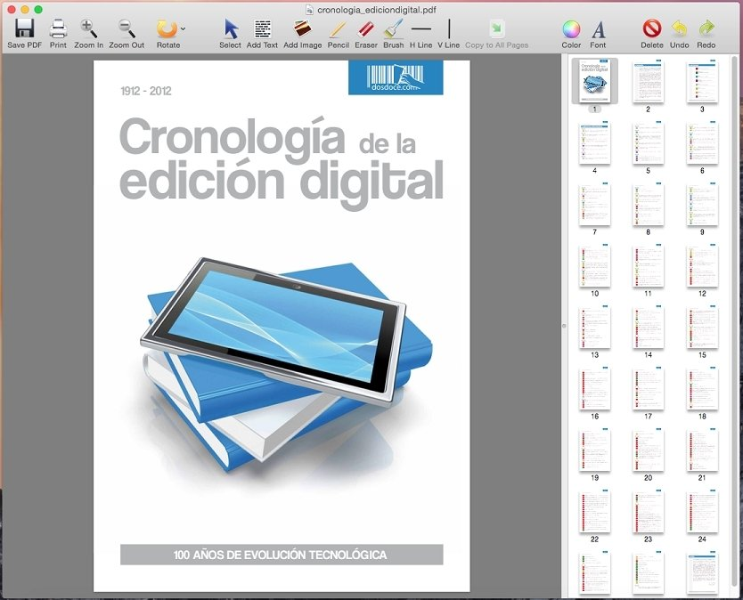 descargar editor pdf mac gratis