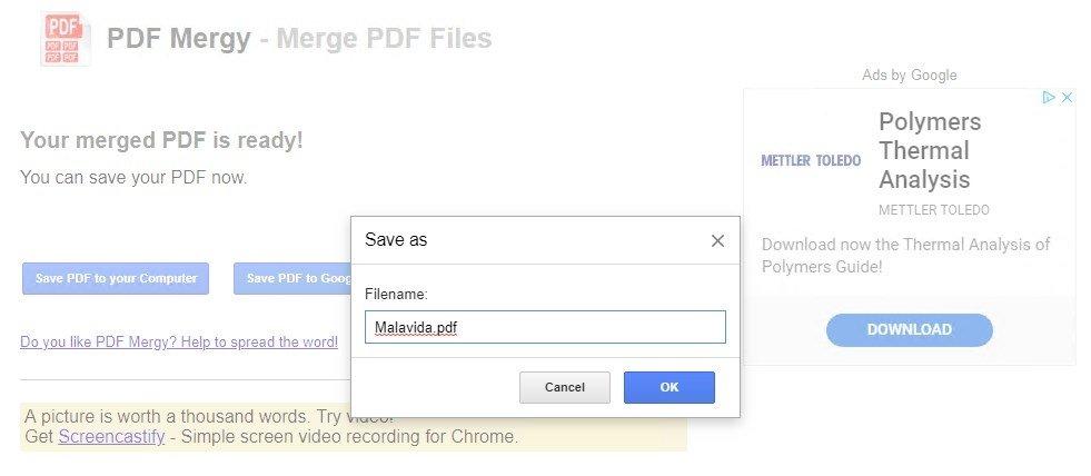 pdf mergy descargar