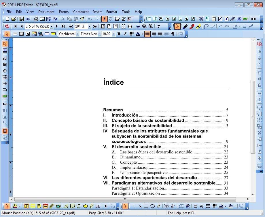 PDFill PDF Editor image 3