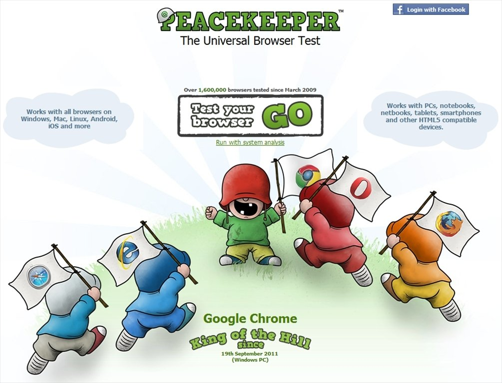 Peacekeeper Webapps image 2