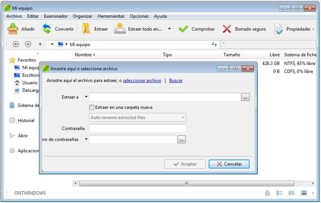 PeaZip 6 8 1 - Baixar para PC Grátis