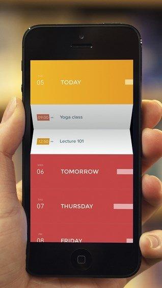 Peek Calendar iPhone image 5